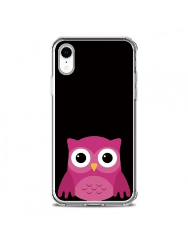 Coque iPhone XR Chouette Pascaline - Nico