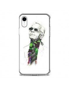 Coque iPhone XR Karl Lagerfeld Fashion Mode Designer - Percy