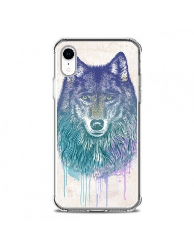 Coque iPhone XR Loup - Rachel Caldwell