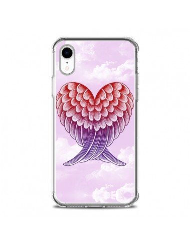 Coque iPhone XR Ailes d'ange Amour - Rachel Caldwell