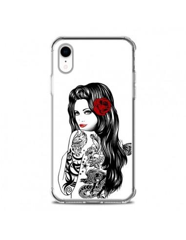 Coque iPhone XR Tattoo Girl Lolita - Rachel Caldwell