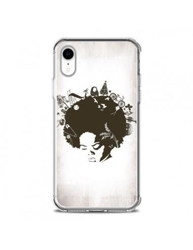 coque iphone xr afro