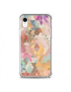Coque iPhone XR Azteque Pattern Triangles - Rachel Caldwell