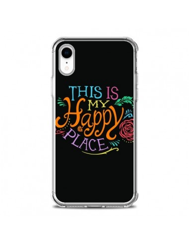 Coque iPhone XR This is my Happy Place - Rachel Caldwell
