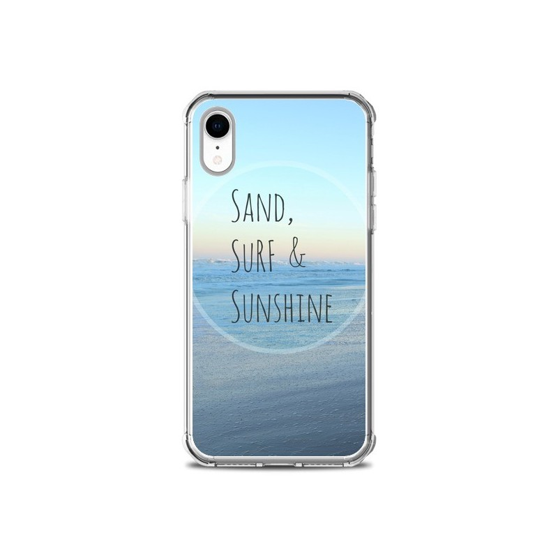 Coque iPhone XR Sand, Surf and Sunshine - R Delean