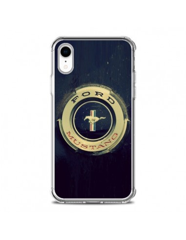 Coque iPhone XR Ford Mustang Voiture...