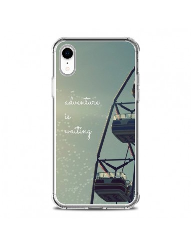 Coque iPhone XR Adventure is waiting Fête Forraine - R Delean