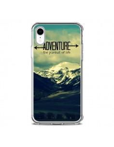 Coque iPhone XR Adventure the pursuit of life Montagnes Ski Paysage - R Delean