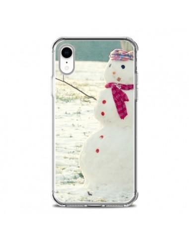 Coque iPhone XR Bonhomme de Neige - R Delean