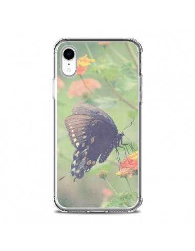 Coque iPhone XR Papillon Butterfly - R Delean