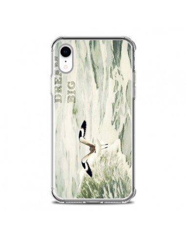 Coque iPhone XR Dream Big Mouette Mer - R Delean