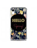 Coque iPhone XR Hello Spring - R Delean