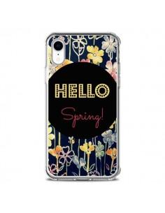 Coque iPhone XR Hello Spring - R Delean