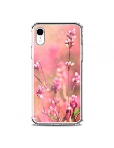 Coque iPhone XR Fleurs Bourgeons Roses - R Delean