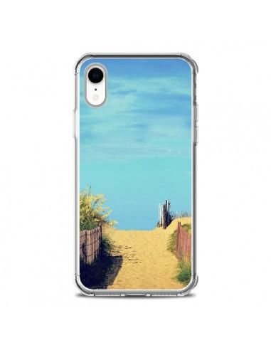 Coque iPhone XR Plage Beach Sand Sable - R Delean