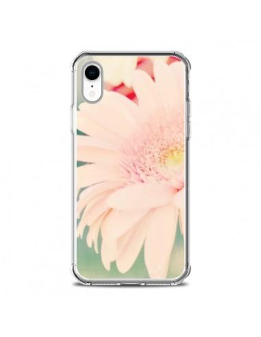 Coque iPhone XR Fleurs Roses magnifique - R Delean