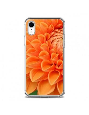 Coque iPhone XR Fleurs oranges flower - R Delean