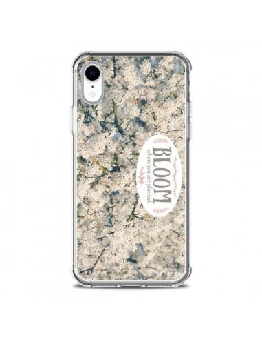 Coque iPhone XR Bloom Fleur Cerisier...