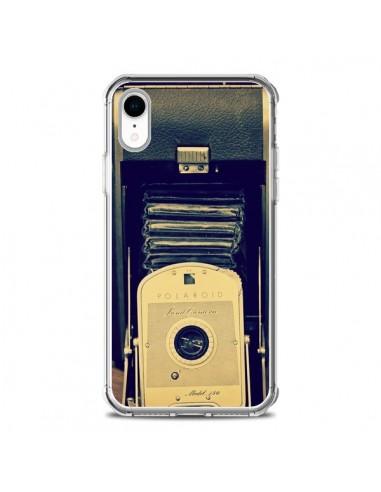 Coque iPhone XR Appareil Photo Vintage Polaroid Boite - R Delean