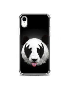 Coque iPhone XR Kiss of a Panda - Robert Farkas