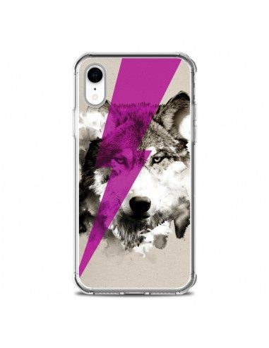 Coque iPhone XR Wolf Rocks - Robert Farkas