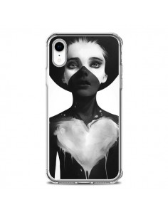 Coque iPhone XR Fille Coeur Hold On - Ruben Ireland