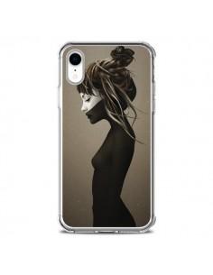 Coque iPhone XR Fille Pensive - Ruben Ireland