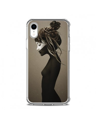 Coque iPhone XR Fille Pensive - Ruben Ireland