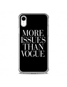 Coque iPhone XR More Issues Than Vogue - Rex Lambo