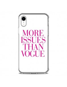 Coque iPhone XR More Issues Than Vogue Rose Pink - Rex Lambo
