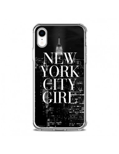 Coque iPhone XR New York City Girl - Rex Lambo