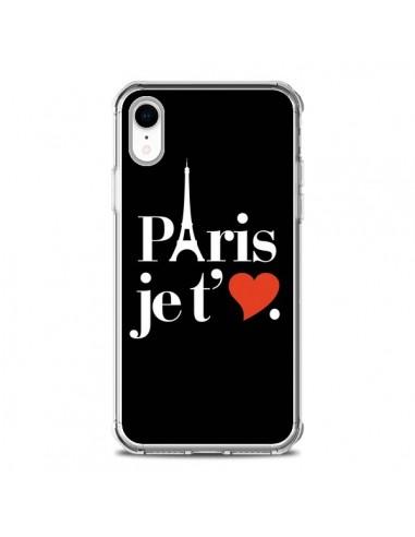 Coque iPhone XR Paris je t'aime - Rex Lambo