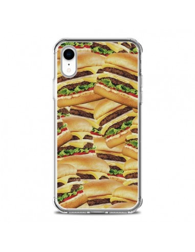Coque iPhone XR Burger Hamburger Cheeseburger - Rex Lambo