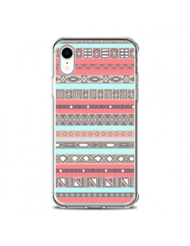 Coque iPhone XR Azteque Aztec Rose Pastel - Rex Lambo