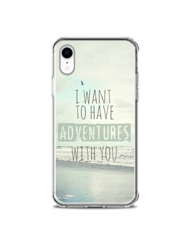 Coque iPhone XR I want to have adventures with you - Sylvia Cook