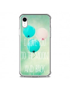 Coque iPhone XR I love you to the moon and back - Sylvia Cook