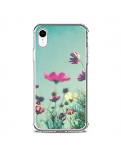 Coque iPhone XR Fleurs Reach for the Sky - Sylvia Cook