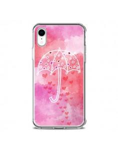 Coque iPhone XR Parapluie Coeur Love Amour - Sylvia Cook