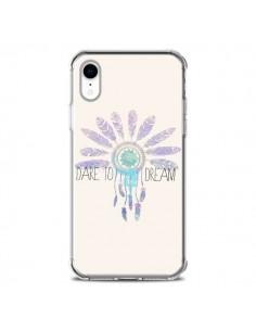 Coque iPhone XR Dare To Dream Osez Rêver - Sara Eshak