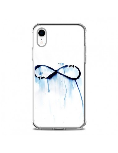 Coque iPhone XR Forever You and Me Love - Sara Eshak