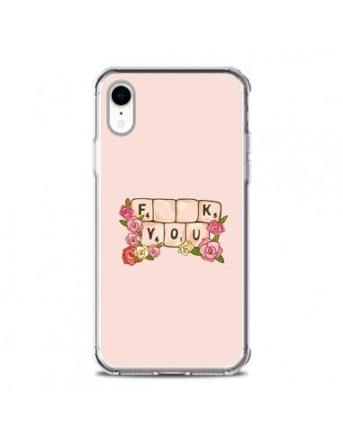 Coque iPhone XR Fuck You Love - Sara Eshak