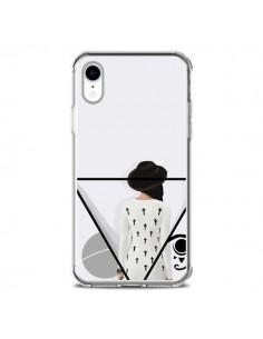 Coque iPhone XR Confusion Femme Oeil Triangle - Sara Eshak