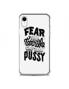 Coque iPhone XR Fear the terrible captain pussy - Senor Octopus