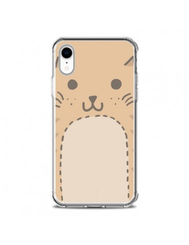 Coque iPhone XR Big Cat chat -...