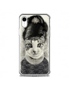 Coque iPhone XR Audrey Cat Chat - Tipsy Eyes