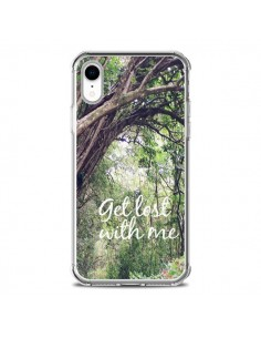 Coque iPhone XR Get lost with him Paysage Foret Palmiers - Tara Yarte