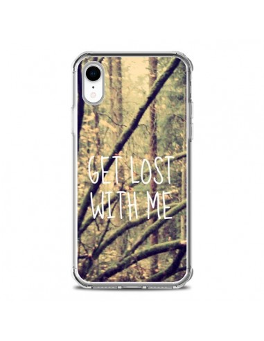 Coque iPhone XR Get lost with me foret - Tara Yarte