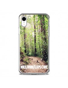 Coque iPhone XR Hike Run Explore Paysage Foret - Tara Yarte