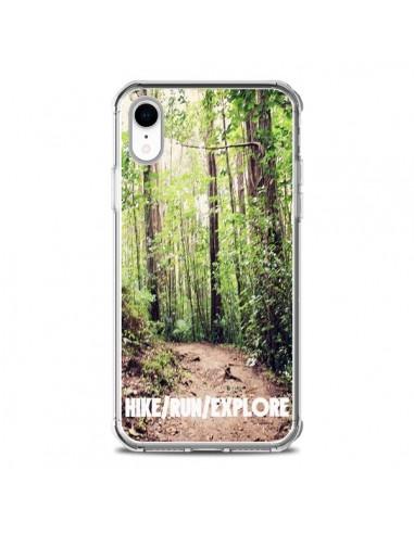 Coque iPhone XR Hike Run Explore Paysage Foret - Tara Yarte