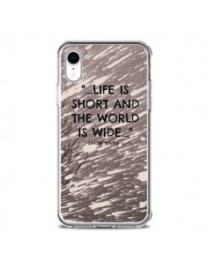 Coque iPhone XR Life is short Foret - Tara Yarte